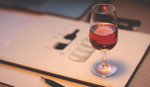 Réalisation de la carte des vins