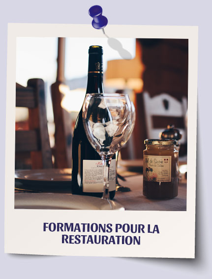 Formations pour la restauration