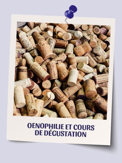 Oenophilie et cours de dégustation